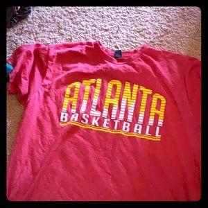 Atlanta hawks basketball tshirt